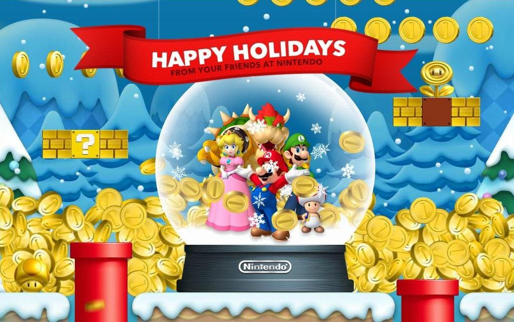 Nintendo Christmas.A Very Nintendo Christmas Trope And Dagger