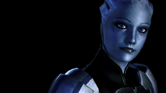Even though everyone loves Liara.  Dem frecks.