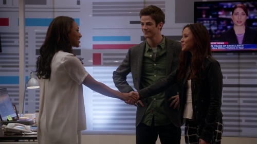Love triangles, the Flash's greatest nemesis.