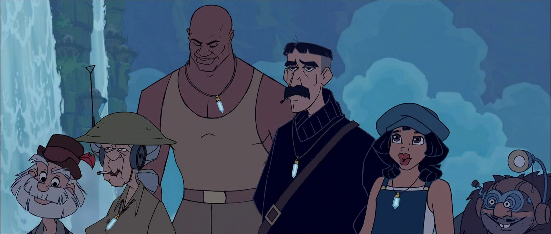 Disney Atlantis Character Design : Atlantis the lost empire best hand animated disney
