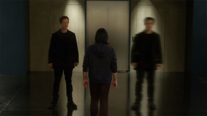 I'm seein double!  Four Harrison Wells!