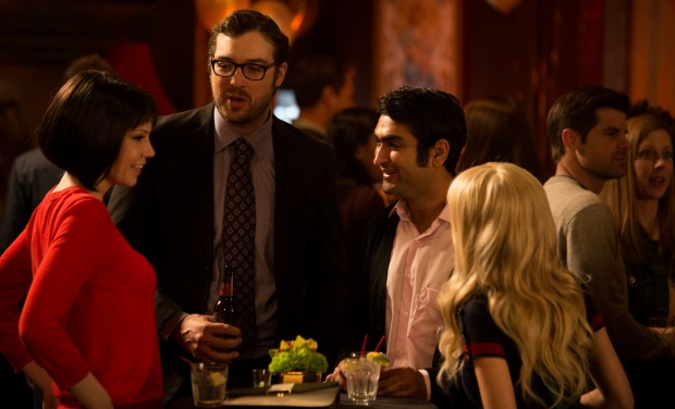 That guy on the right has been mistaken for the Indian guy on the Big Bang Theory.  He's kind of a big deal.