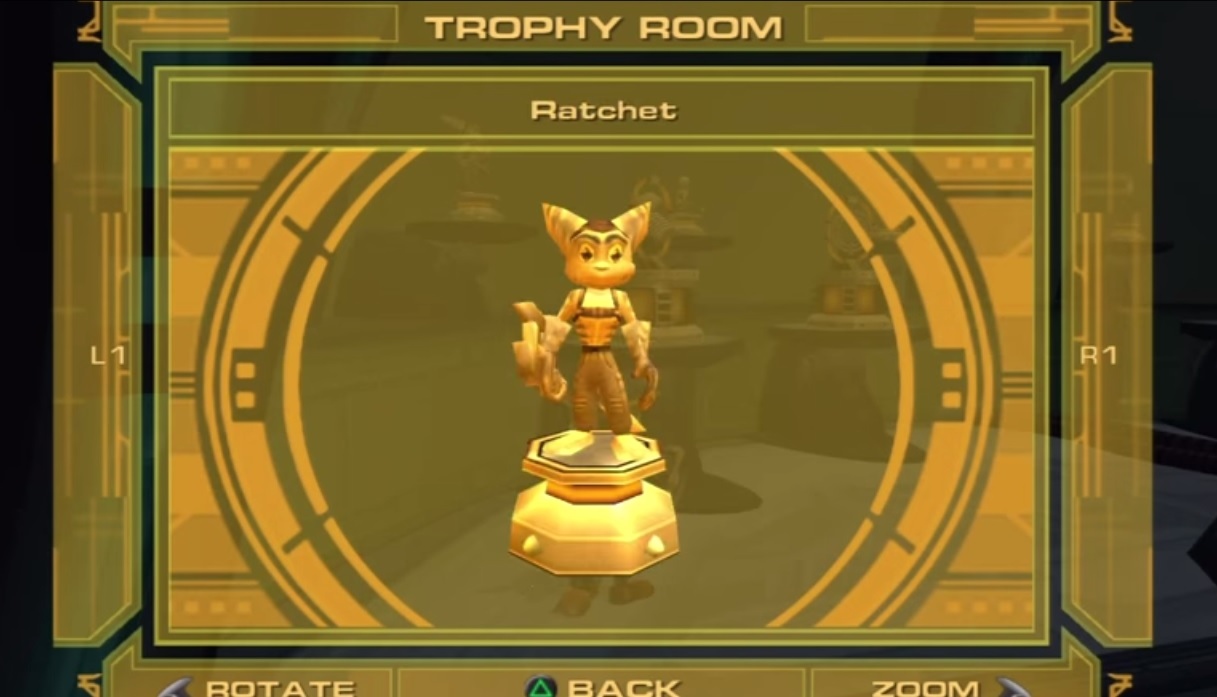 QUICK ATTACK Trophies In Ratchet And Clank Up Your Arsenal