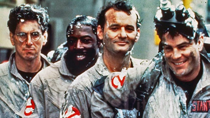Ghostbusters smiling